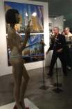 Daniele Sculpture Woman with w cigarette