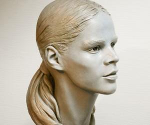 Tsvetana Yvanova - ICON 1--Bronze -18.5 x7.5 x11