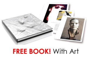 FREE GIFT _BOOK WITH PURCHASE OF SCULPTURE OR A GICLEE